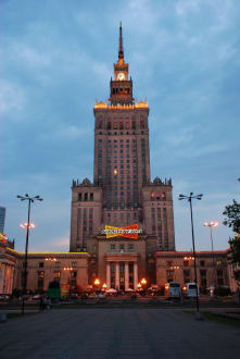 Historic sites (castle, palace, ruins, etc.) - The Palace of Culture and Science