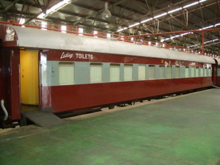 Im Railway Museum - Outeniqua Choo Tjoe Transport Museum
