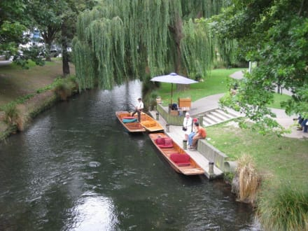 Punting Station am Avon - Christchurch