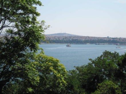 Topkapi-Serail, Blick auf Bosporus - Topkapi-Palast