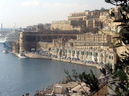 La Valetta - Hafen Valletta