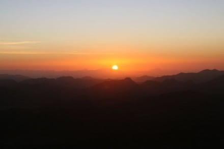 Sonnenuntergang - Mosesberg (Gebel Musa) / Berg Sinai