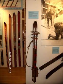 faltbarer Ski - Kleinmuseum Klösterle