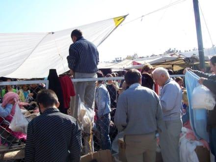 Stoffmarkt in Antalya - Bazar