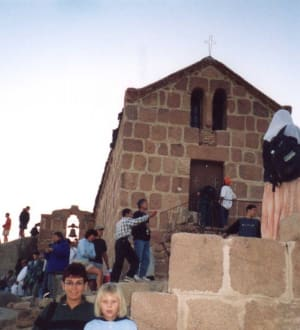 Kapelle auf dem Moseberg - Mosesberg (Gebel Musa) / Berg Sinai