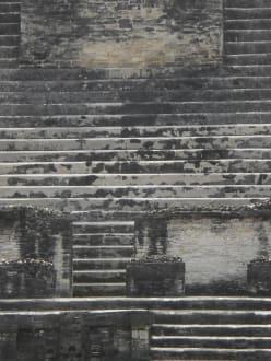 Pyramidentreppen - Mayastätte Altun Ha