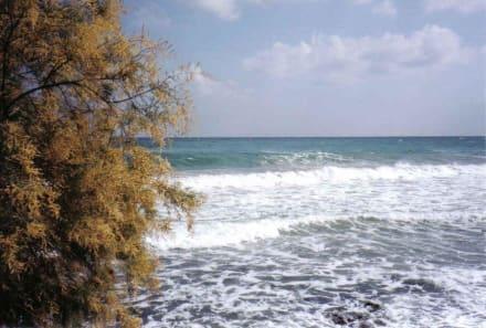 An der Strandpromenade - Strand Stalis