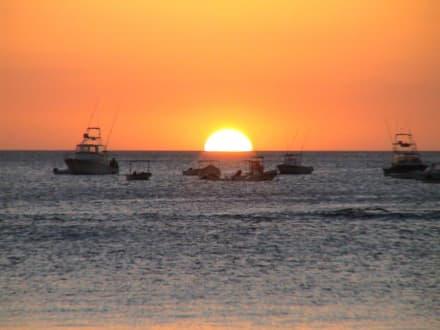 Sonnenuntergang - Strand Tamarindo