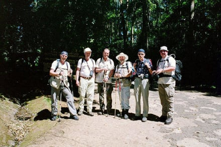Start am Marangu Gate - Kilimanjarobesteigung