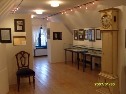 Der Ausstellungsraum! - Brahms-Haus