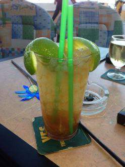Caipi , mmmmh lecker - Cafe Jamaica