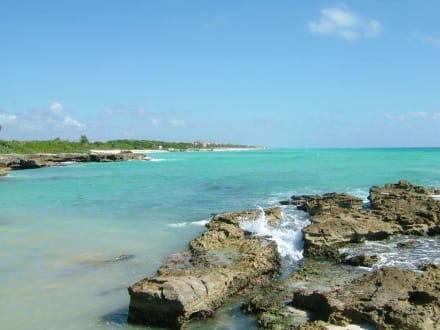 Strandspaziergang - Strand Playa del Carmen/Playacar