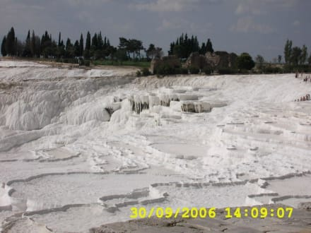Kalkterrassen von Pamukkale - Kalksinterterrassen von Pamukkale