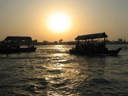 Wassertaxi in Dubai - Dubai Creek