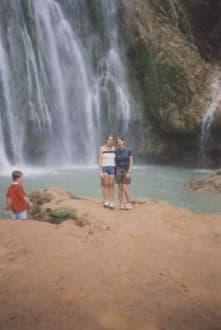 Wasserfall in Samana - Wasserfall Saltos de Limon