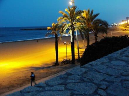 Der Strand von Barceloneta - Barceloneta