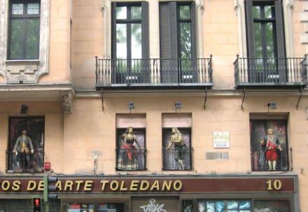 Gebäude am Paseo del Prado - Museo Nacional del Prado