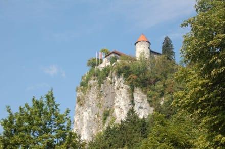 Burg   in Bled - Burg von Bled