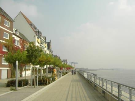 Rheinpromenade Emmerich - Uferpromenade Emmerich