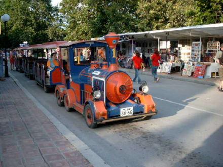 Bimmelbahn in Albena - Bimmelbahn