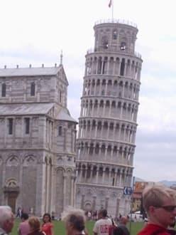 Der schiefe Turm von Pisa - Schiefer Turm von Pisa