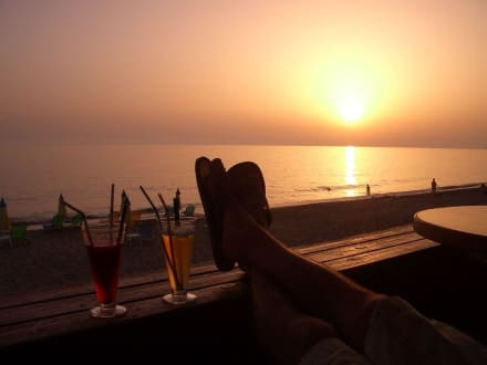 sunset - Alo Bar