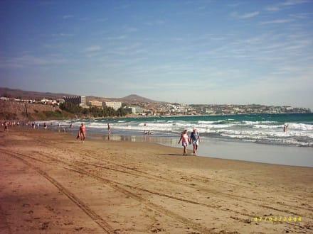 Blick auf Playa del Ingles - Strand Playa del Ingles