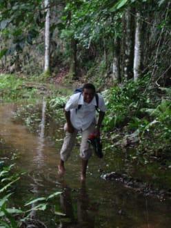 mit oder ohne Schuhe - Nationalpark El Choco