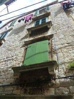 Hausfront - Altstadt Sibenik