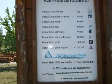 Beschreibung für Wetterstein - Geiseltalsee