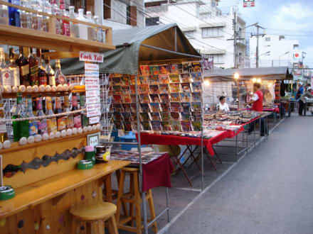 Verkaufsstände - Nachtmarkt