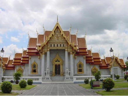 Wat Benchamabophit-Tempel - Wat Benchamabopit Marmortempel