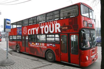 City Tour Bus - Stadtrundfahrt Tallin