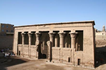 Esna, Tempel des Chnum - Tempel des Chnum / Esna