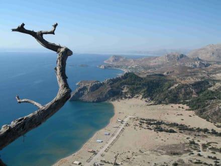 Aussicht vom Tsambika-Berg - Tsambika-Berg
