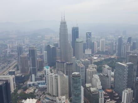 Aussicht - Menara Kuala Lumpur (Fernsehturm)