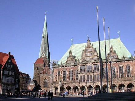 Bremen, Rathaus - Rathaus