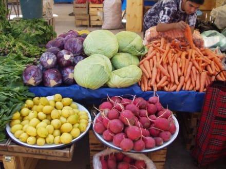Gemüse auf dem Markt von Manavgat - Markt