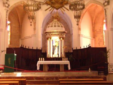 Altarraum - Kathedrale Santa Maria