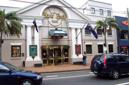 Außenansicht - Hard Rock Café Sydney (existiert nicht mehr)