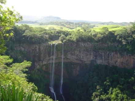 Wasserfall in Charamel - Chamarel-Wasserfall