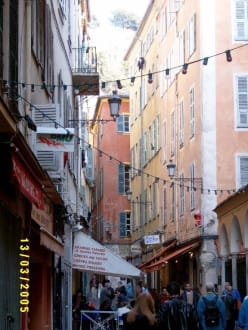 Altstadtgassen von Nizza - Altstadt Nizza