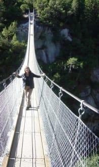 Hängebrücke zur Gelmerbahn - Gelmersee