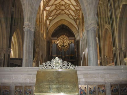 Kathedrale, Deckengewölbe - Wells