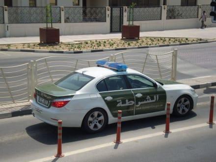 Polizeiauto - Stadtrundfahrt Dubai