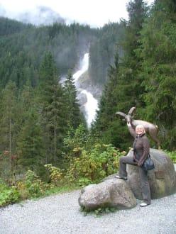 Aus der Ferne betrachtet - Krimmler Wasserfälle