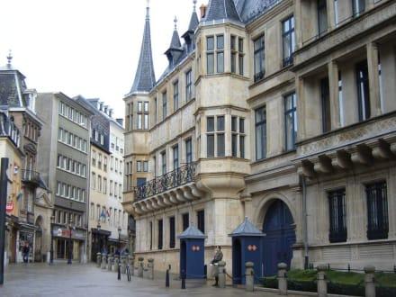 Großherzoglicher Palast in der Altstadt - Altstadt Luxemburg
