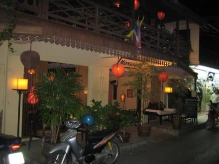Der Eingangsbereich vom Monsoon. - Restaurant Monsoon