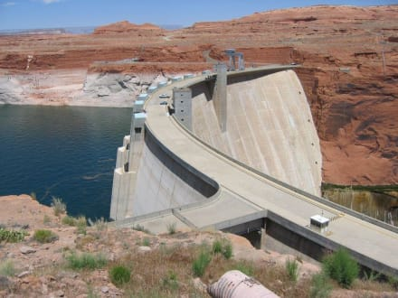 Glen-Canyon-Staumauer  - Lake Powell