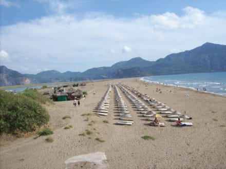 Schildkröteninsel - Strand Iztuzu